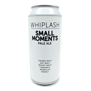 Whiplash Small Moments Session IPA 4.3% (440ml can)-Hop Burns & Black
