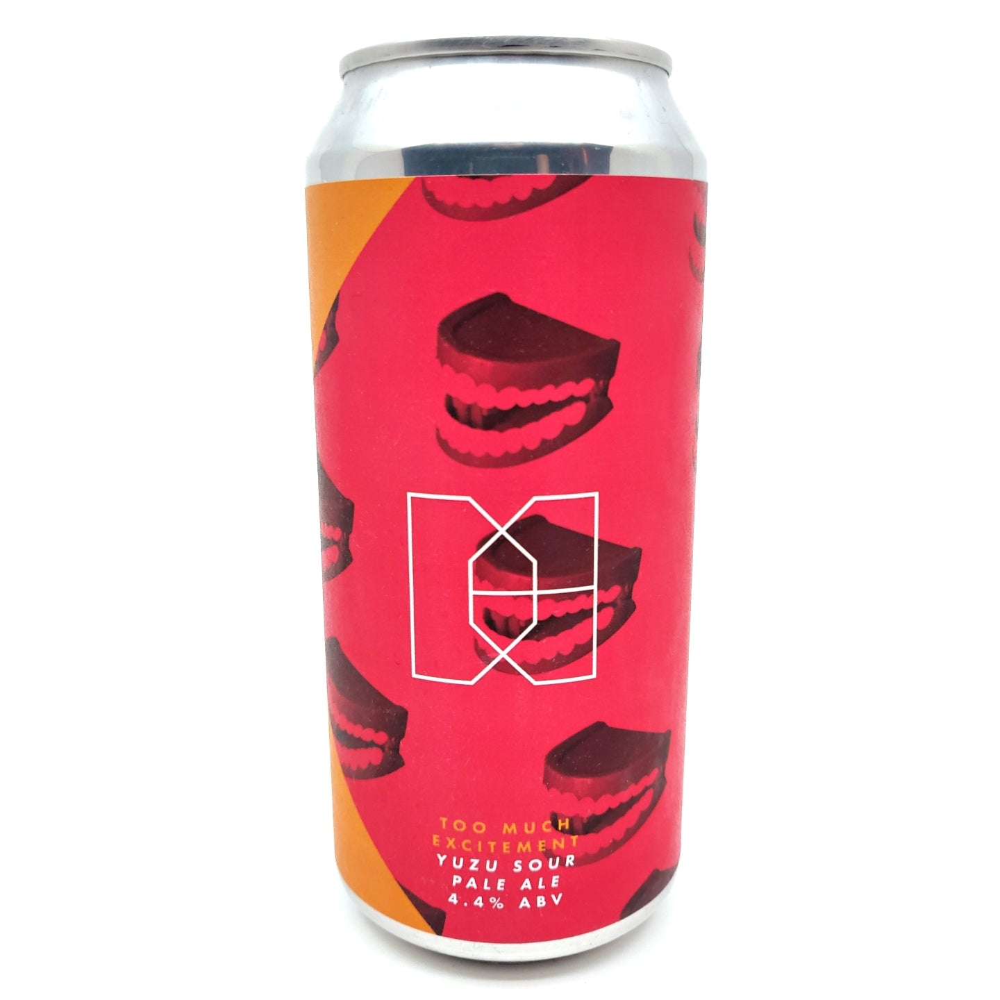 Double Barrelled x Elusive Too Much Excitement Yuzu Berliner Weisse 4.4% (440ml can)-Hop Burns & Black