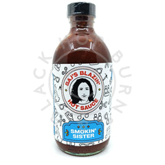 Baj's Blazin' Hot Sauce Smokin' Sister (240ml)-Hop Burns & Black