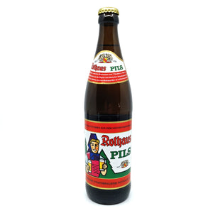 Rothaus Pils 5.1% (500ml)-Hop Burns & Black