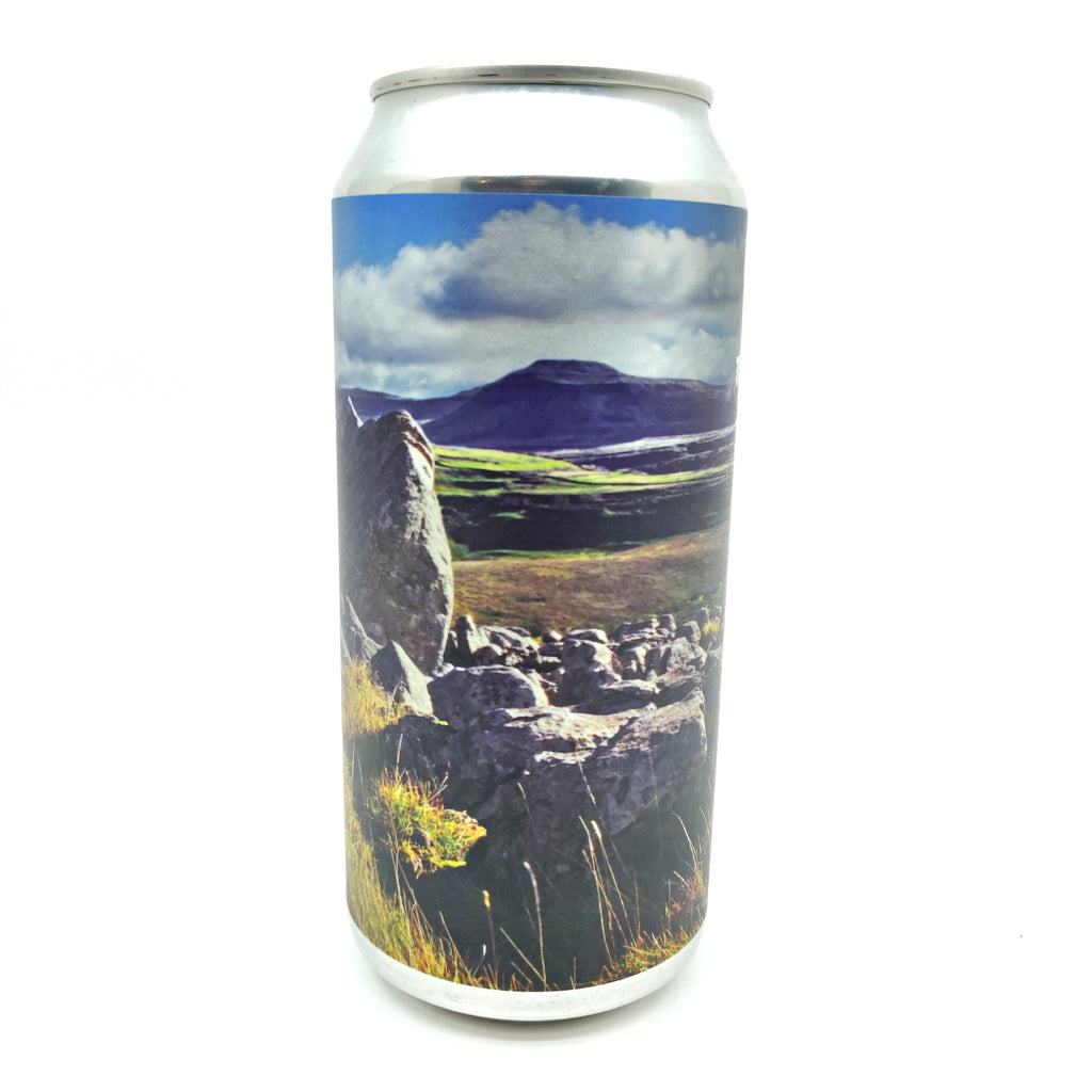 Northern Monk Three Peaks Mountain Race 2019 Edition Session IPA 2.8% (440ml can)-Hop Burns & Black