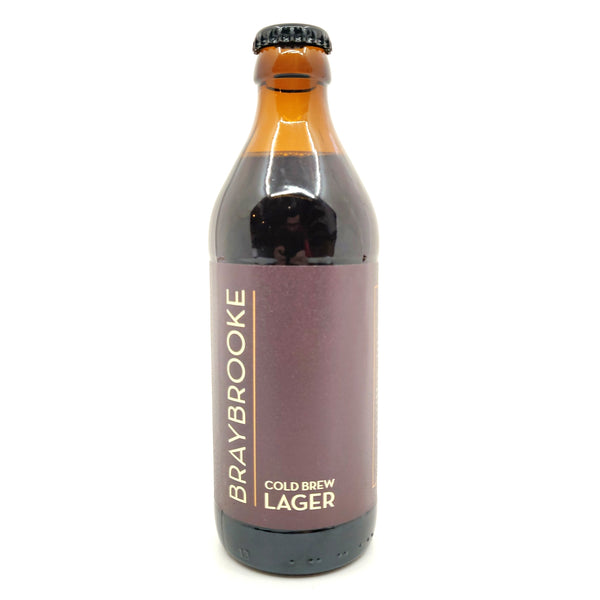 Braybrooke Cold Brew Lager 5.4% (330ml)-Hop Burns & Black