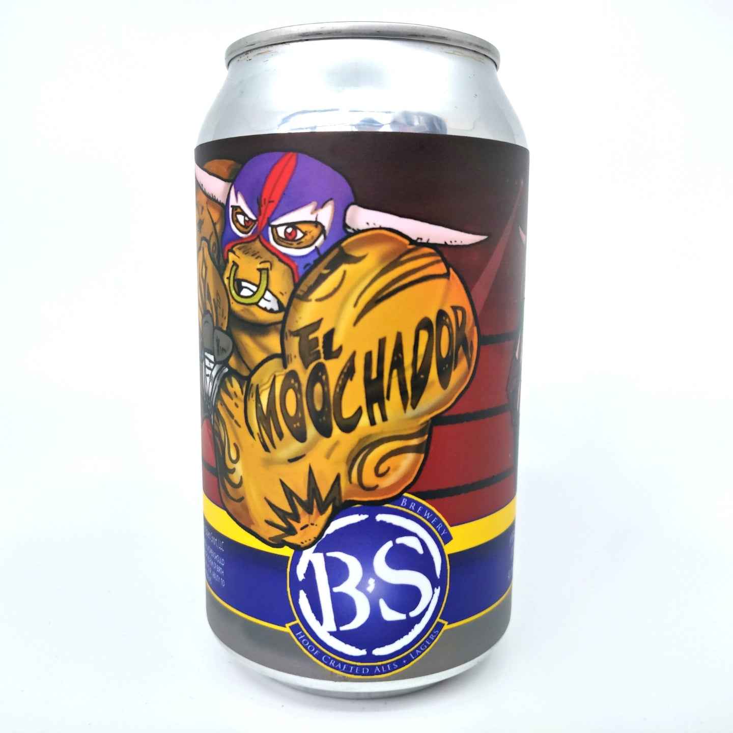 Bolero Snort El Moochador Imperial Stout 11% (330ml can)-Hop Burns & Black