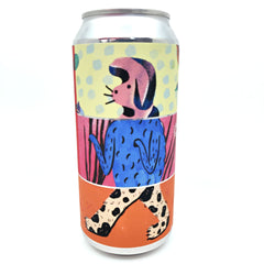 Canopy Hello Wolf Rhubarb Weisse 4.5% (440ml can)-Hop Burns & Black