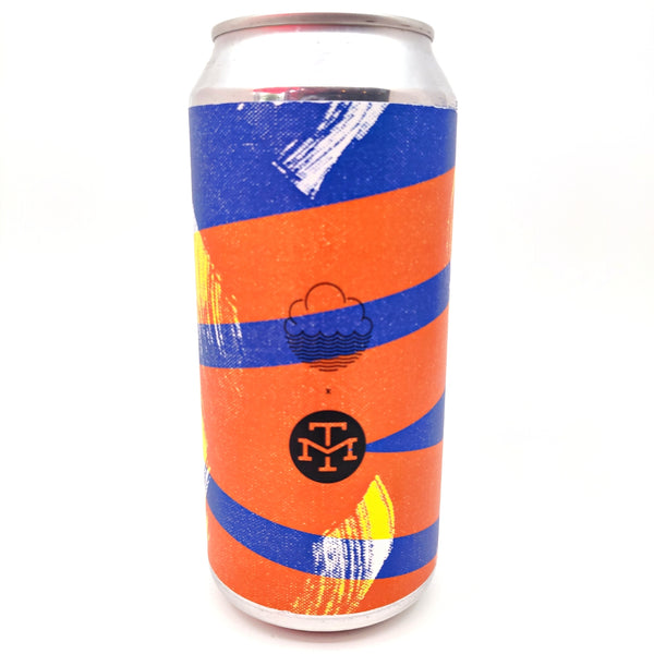 Cloudwater x Modern Times Indulgently Crisp Experience IPL 6.5% (440ml can)-Hop Burns & Black
