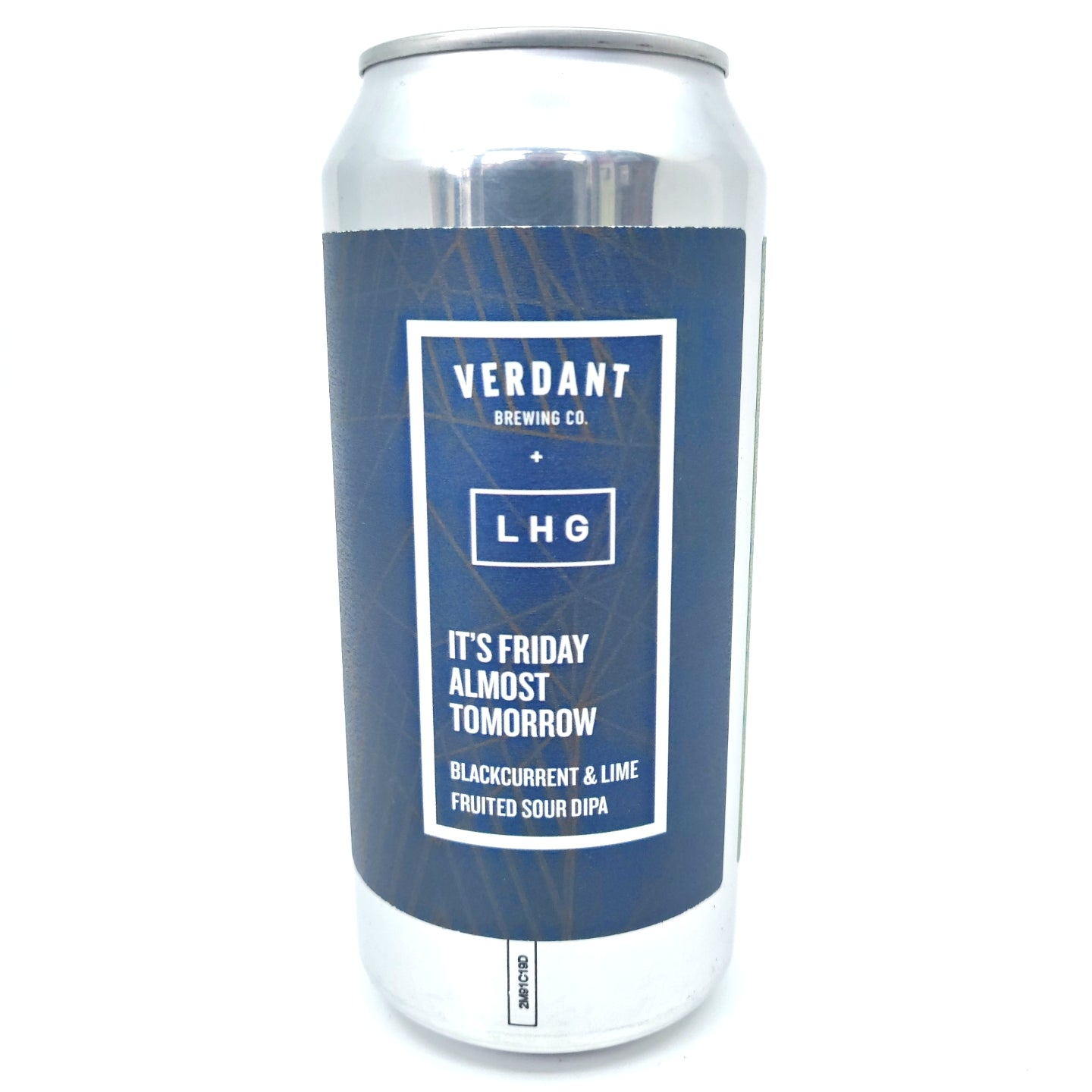 Verdant x Left Handed Giant It's Friday Almost Tomorrow DIPA 8.4% (440ml can)-Hop Burns & Black