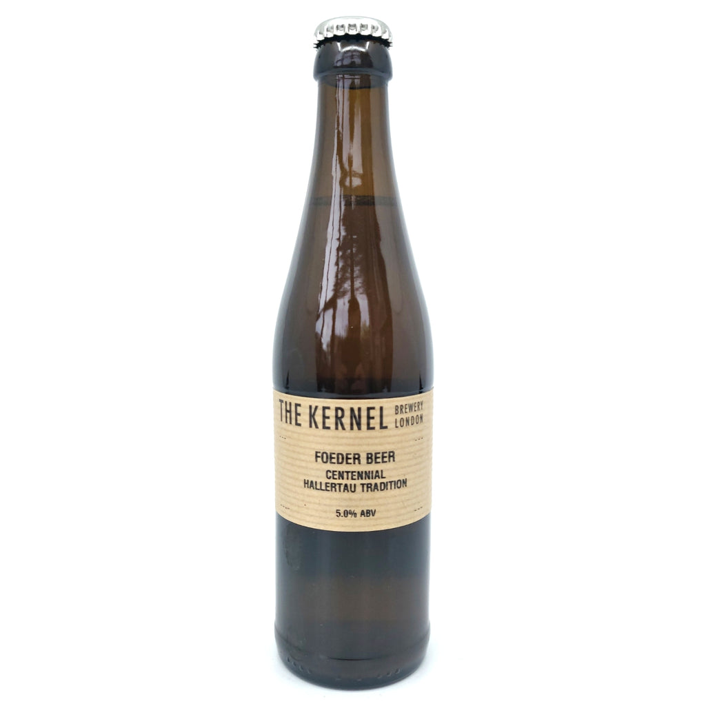 Kernel Centennial & Hallertau Tradition Foeder Beer 5% (330ml)-Hop Burns & Black