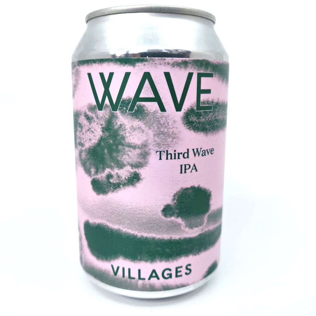 Villages Third Wave IPA 6% (330ml can)-Hop Burns & Black