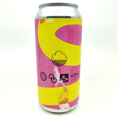 Cloudwater x Monkish x Other Half x Trillium x The Veil Cheerful Happenings & Intentions Chai & Coconut Stout 11% (440ml can)-Hop Burns & Black