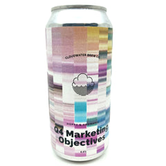 Cloudwater Q4 Marketing Objectives Witbier 6.5% (440ml can)-Hop Burns & Black