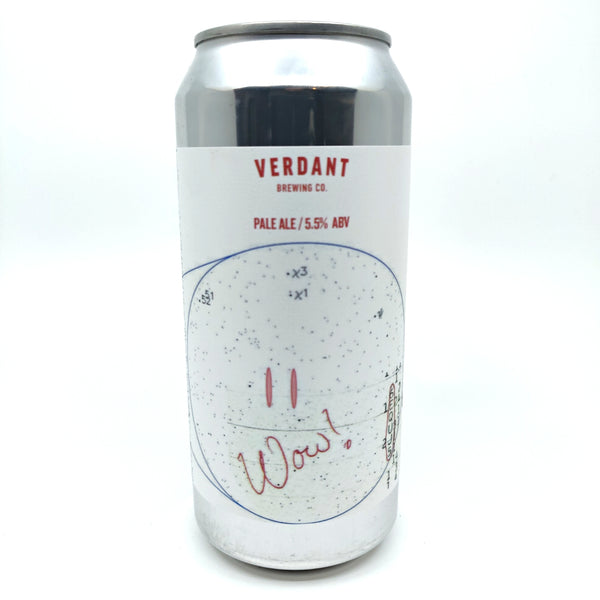 Verdant WOW Signal Pale Ale 5.5% (440ml can)-Hop Burns & Black