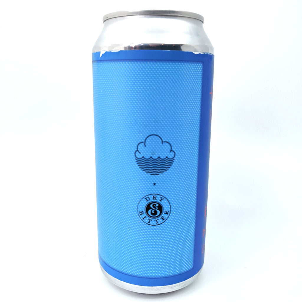Cloudwater x Dry & Bitter Mobile Speaker Blue DIPA 8% (440ml can)-Hop Burns & Black