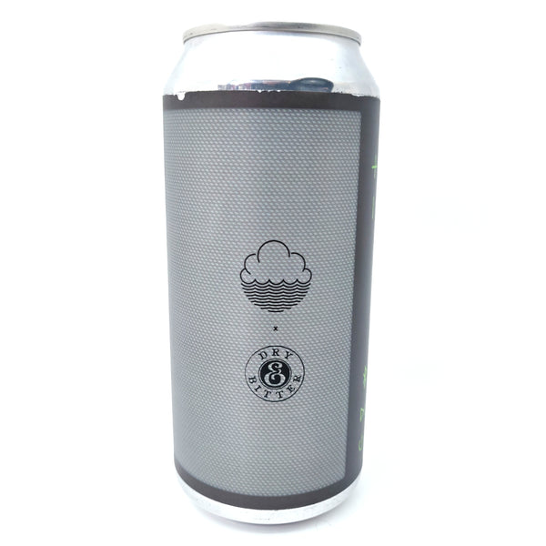 Cloudwater x Dry & Bitter Mobile Speaker Grey DIPA 8% (440ml can)-Hop Burns & Black