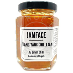 Jamface Ptang Yang Chilli Jam (226g)-Hop Burns & Black