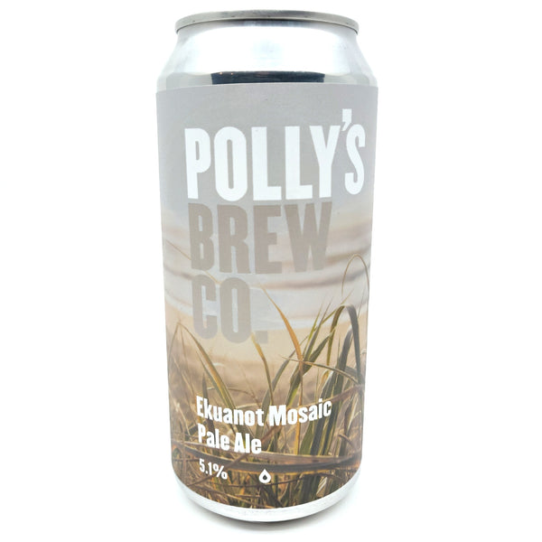 Polly's Brew Co. Ekuanot Mosaic Pale Ale 5.1% (440ml can)-Hop Burns & Black