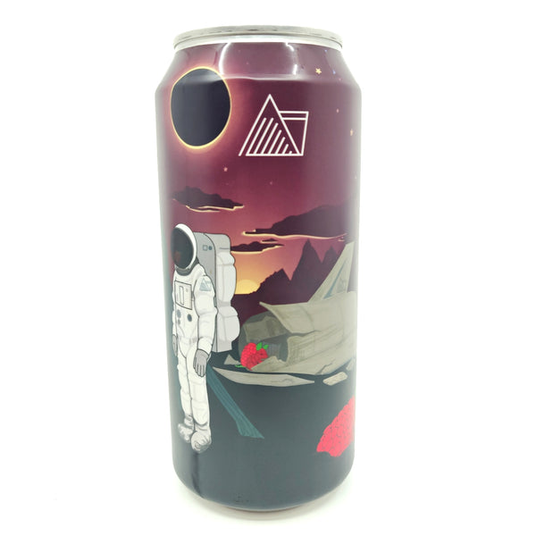 Wander Beyond Raspberry Crash Raspberry Imperial Stout 10% (440ml can)-Hop Burns & Black
