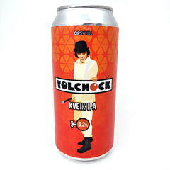 Gipsy Hill Tolchock Kveik IPA 5.2% (440ml can)-Hop Burns & Black
