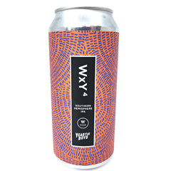 Wylam x Yeastie Boys WxY4 IPA 7% (440ml can)-Hop Burns & Black