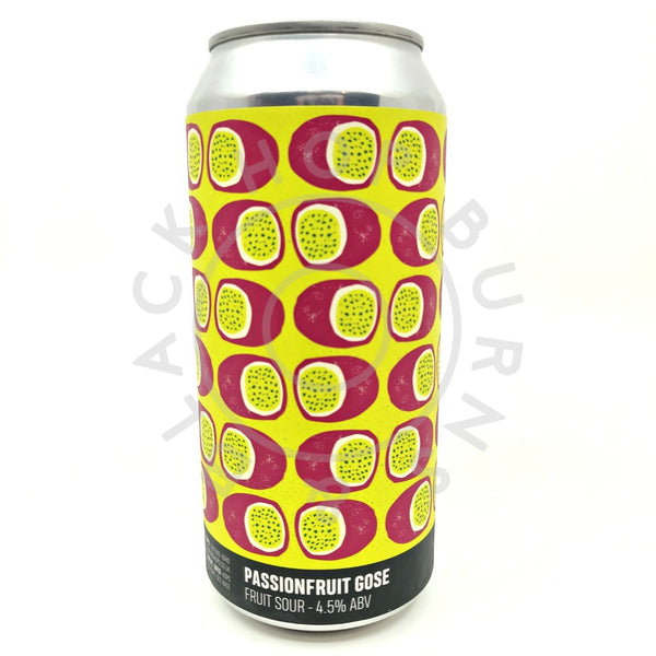 Howling Hops Passion Fruit Gose 4.5% (440ml can)-Hop Burns & Black