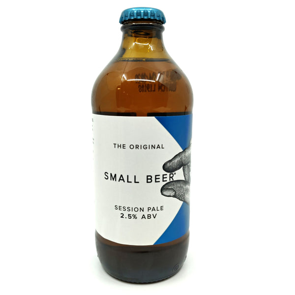 Small Beer Session Pale 2.5% (350ml)-Hop Burns & Black