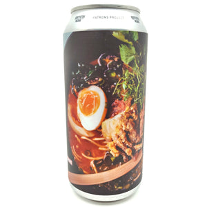 Northern Monk x Finback Cocktail Beer Ramen & Bun Yuzu IPA Patrons Project 10.06 6.4% (440ml can)-Hop Burns & Black