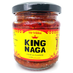 Mr Vikki's King Naga (220g)-Hop Burns & Black