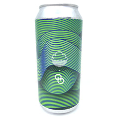 Cloudwater x Other Half Tremendous Ideas Double IPA 8% (440ml can)-Hop Burns & Black