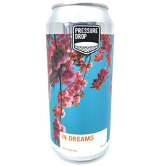 Pressure Drop In Dreams Pale Ale 5.8% (440ml can)-Hop Burns & Black