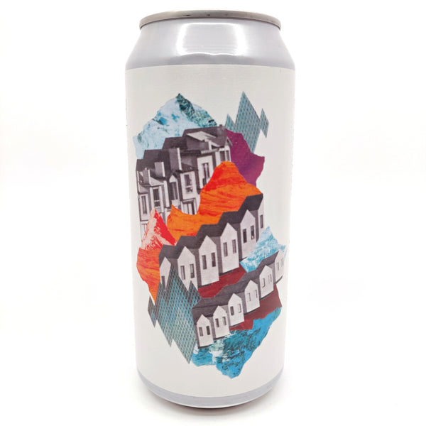Whiplash Leave Home IPA 7% (440ml can)-Hop Burns & Black