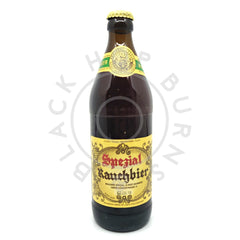 Spezial Rauchbier Lager 4.9% (500ml)-Hop Burns & Black