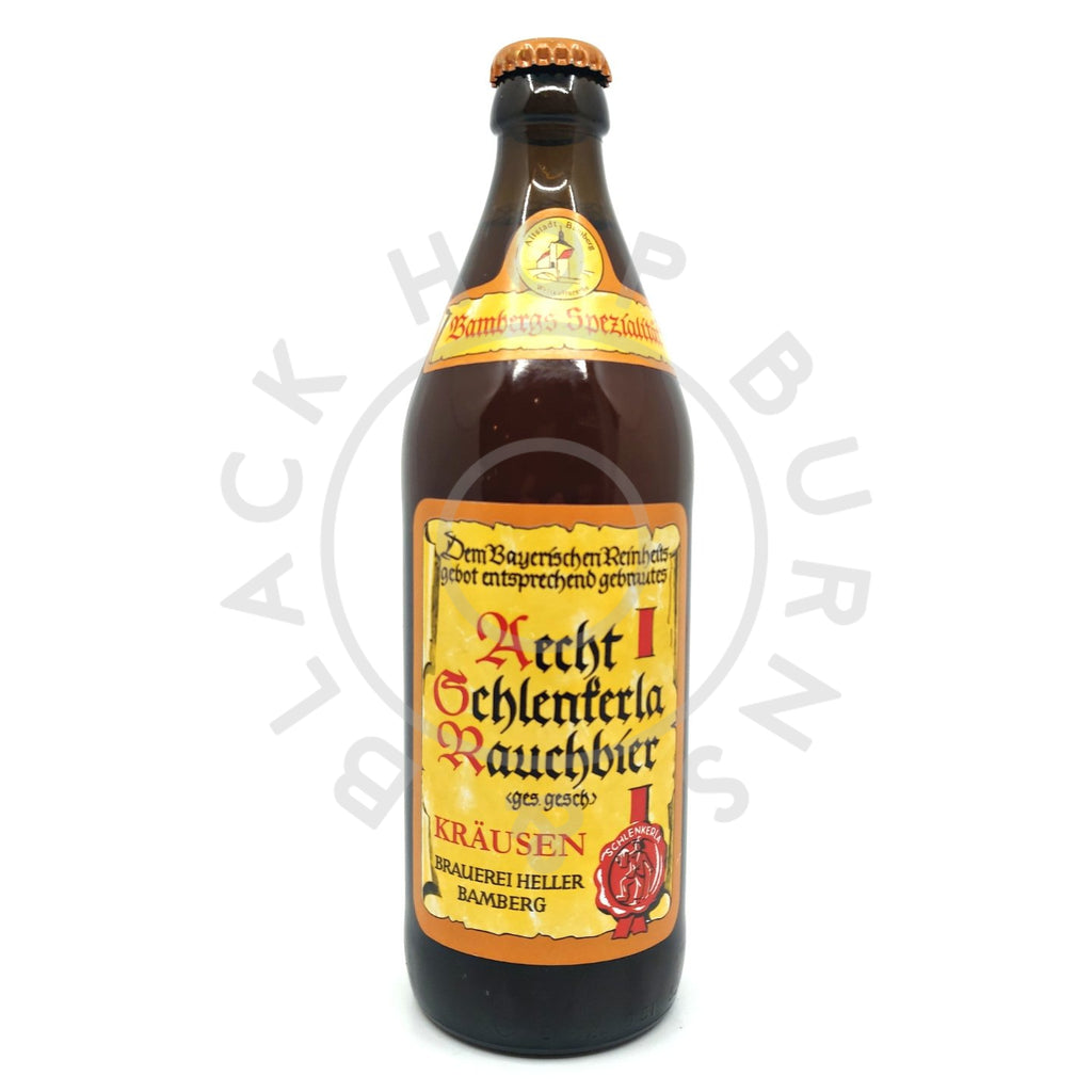 Schlenkerla Rauchbier Krausen 4.5% (500ml)-Hop Burns & Black