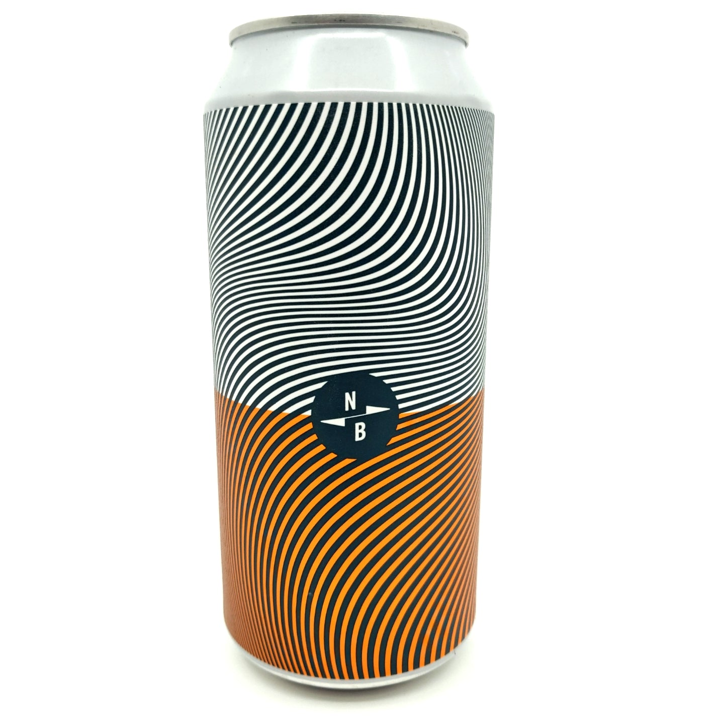 North Brewing Co Triple Fruited Gose White Guava & Orange Peel 4.1% (440ml can)-Hop Burns & Black