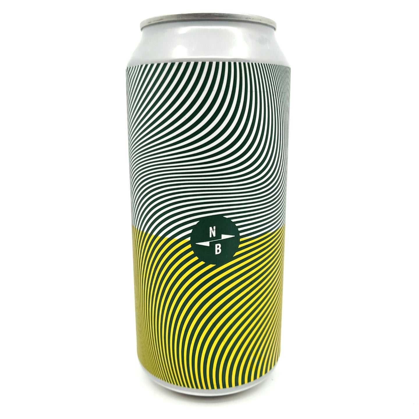 North Brewing Co x Gipsy Hill Triple Fruited Gose White Peach & Jasmine 4.5% (440ml can)-Hop Burns & Black