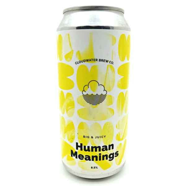 Cloudwater Human Meanings DIPA 8.5% (440ml can)-Hop Burns & Black