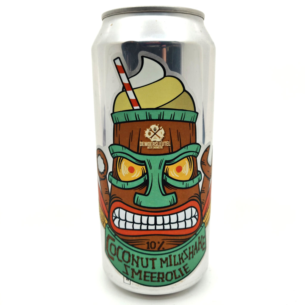 De Moersleutel Smeerolie Coconut Milkshake Imperial Stout 10% (440ml can)-Hop Burns & Black