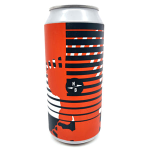 North Brewing Co Waving Flags DDH IPA 7% (440ml can)-Hop Burns & Black