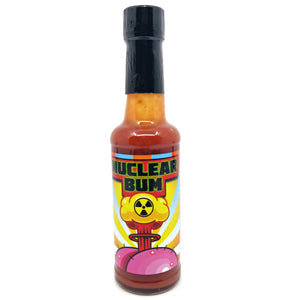 Tom's Curious Sauces Nuclear Bum Hot Sauce (150ml)-Hop Burns & Black