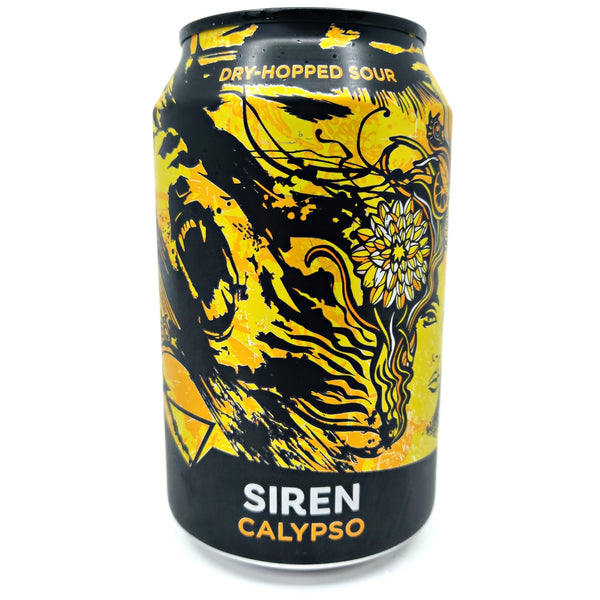 Siren Calypso Dry Hopped Sour 4% (330ml can)-Hop Burns & Black