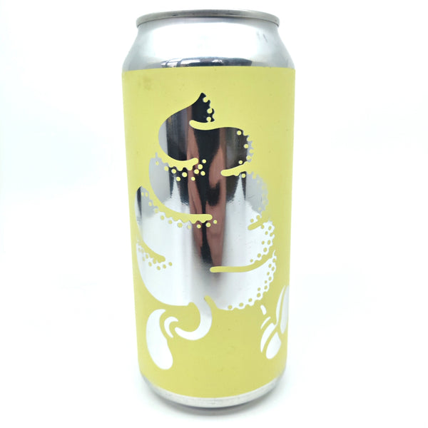 Buxton x Omnipollo Original Lemon Meringue Ice Cream Pie 6% (440ml can)-Hop Burns & Black