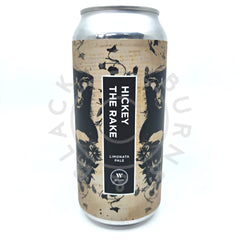 Wylam Hickey the Rake Pale Ale 4.2% (440ml can)-Hop Burns & Black