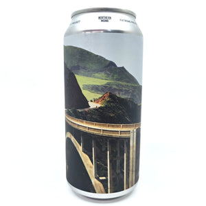Northern Monk x Queer Brewing Project West Coast Routes Lemon Radler Patrons Project 20.01 2.8% (440ml can)-Hop Burns & Black