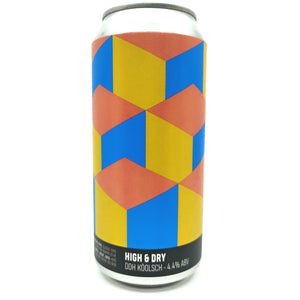 Howling Hops x Unity High & Dry DDH Koolsch 4.4% (440ml can)-Hop Burns & Black