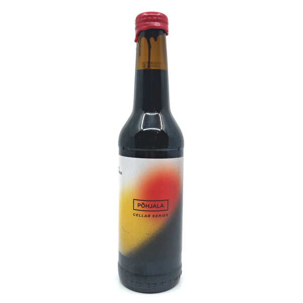 Pohjala Cellar Series Pime Oo PX Sherry Barrel Aged Imperial Stout 13.9% (330ml)-Hop Burns & Black
