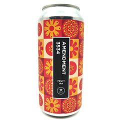 Wylam Amendment 3534 Fruit IPA 7.1% (440ml can)-Hop Burns & Black