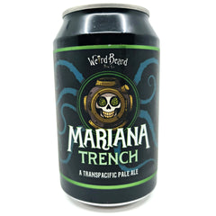 Weird Beard Mariana Trench Pale Ale 5.3% (330ml can)-Hop Burns & Black