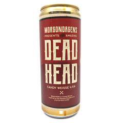 Morgondagens Bryggeri Dead Head Candy Weisse 4.5% (330ml can)-Hop Burns & Black