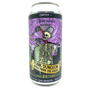 Abbeydale Funk Dungeon Ryes From The Grave Fruit Sour 7.2% (440ml can)-Hop Burns & Black