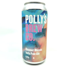 Polly's Brew Co Ekuanot Mosaic IPA 6.6% (440ml can)