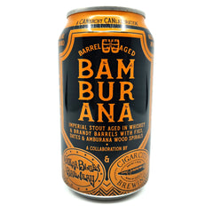 Cigar City x Oscar Blues Bamburana Imperial Stout 12.2% (355ml can)