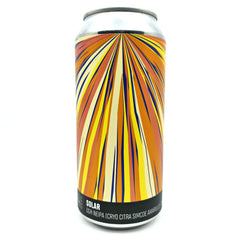 Howling Hops Solar DDH NEIPA 7.4% (440ml can)-Hop Burns & Black